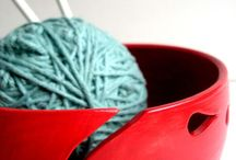 Yarn Bowls, Bells, Holders and DIY Ideas / by Deb (Deborah Graci) Latshaw