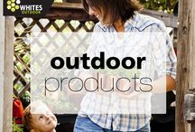 Whites Outdoor / A selection of products from Whites Outdoor