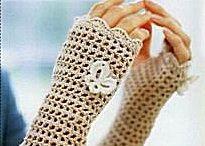 guanti pizzo