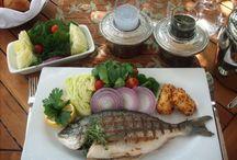Balık rakı masası