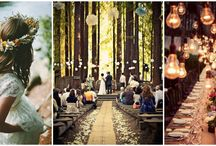 svatba v lese