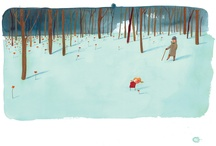 Oliver Jeffers illustrations