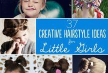 Cute hair styles for little girls