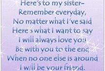 Sisters xxx / My sister, my friend, my world xxx