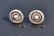 Zilveren Oorstekers / Prachtige oorstekers van zilver