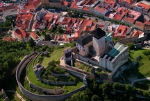 Historical sites from above