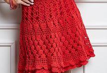 crochet wearables:  women's skirts / by Joan Nicholes