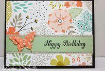 Cards I made- Stampin' Up! / www.CreativePaperTreasures.com