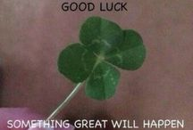 I want to get luck :)