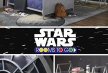 Star Wars / These officially licensed Star Wars™ products will have your child reliving some of the epic battles from the classic saga and shifting their imaginations into hyperspace for years to come!  / by Rooms To Go