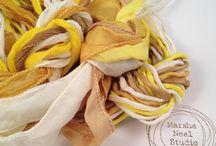Hand Painted Silks