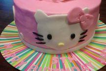 hello kitty cake / by Berfe Tumen