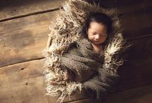 Newborn Photoshoot Ideas / by The Waking Artist