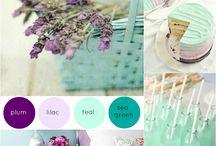 Lavender & Teal