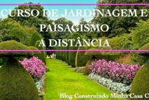 Curso de Jardinagem e Paisagismo Online! / Super indico, confira no blog: http://www.construindominhacasaclean.com/2014/06/curso-de-jardinagem-e-paisagismo.html