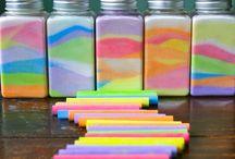 Coloured salt