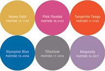 Color Palettes- Pantone Color Report Fall 2012 / Boards and images inspired by the colors featured at NY Fashion Week 2012 and expected to reign in Fall 2012 weddings.