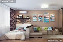 квартирный интерьер