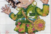 Borduren - Cross stitch