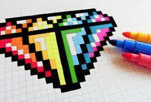 Tegning: Pixel art