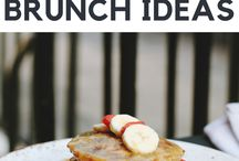 Breakfast and Brunch / What foods will hit the spot in the morning after your big event?