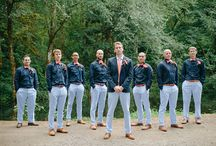 Groom & Groomsmen / by Artfully Wed - Wedding Blog