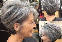 mature hair