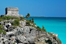 Archaeological Sites in Riviera Maya, México / The Yucatan Peninsula offers many attractions: exquisite beaches along the Caribbean coastline, resort areas like Cancun and the Mayan Riviera, ecological reserves and waterparks, and the lovely colonial city of Merida. But among the Yucatan's most fascinating attractions are the amazing Mayan ruins which can be found throughout the area