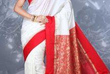 Bengali Saree Style Outfit Idea