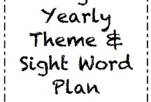 Sight words / by Kellie Powell