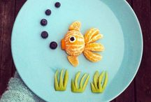 Food art, amazing! / Food art inspiration. How to make fruit cute for kids and not only.