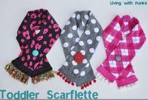 scarf patterns / by Michelle Thornton