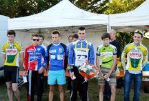 Thomas MONTOIS, 3ème junior au cyclo-cross de Sainte-Maure-de-Touraine (19/10/2014) / Thomas MONTOIS prend la 3ème place chez les juniors au cyclo-cross de Sainte-Maure-de-Touraine