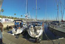 Salida Barcelona World Race / BWR 31th December. Barcelona at 13:00h Local Time.
