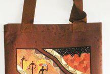 Aboriginal design Canvas Bags / info@kullillaart.com.au to Order/Enquire