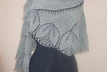 Crochet sjal