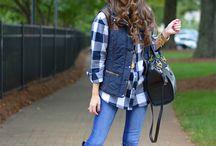 plaid inspo / Plaid outfits