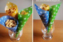 Servir comida em festas