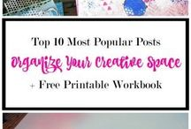 Organizing Your Creative Space