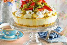 Easy cheesecake / Lemon pavlova filling