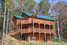 4-Bedroom Cabins in Gatlinburg / Luxury 4-bedroom rental cabins in Gatlinburg, TN. 3-5 baths, hot tub, game room, home theater, mtn views. Sleep 10-16 but call us 24/7 at 855-95-SMOKY, let us match the cabin to your needs. http://www.CabinsOfTheSmokyMountains.com / by Cabins Of The Smoky Mountains