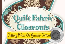 Quilt Fabric Sources / by Joyce Prather