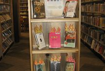 Book Displays / A collection of displays we created at the Nederland Community Library