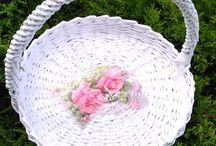 Košíky z papiera / Ako využiť letáky