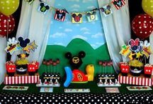 Mickey Mouse Clubhouse / My daughter might like a Clubhouse theme for her birthday. Gathering ideas to make it a special event...