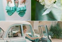 Color Azul Tiffany / Bodas Azul Tiffany. Tiffany Blue Weddings