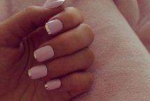 Makeup nails and hair