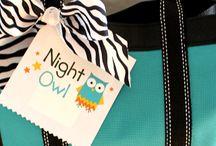 night owl slumber party theme
