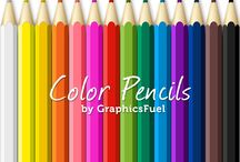 Colour Pencils / by carie ferrell