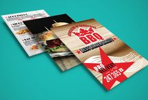 Barbeque Burger Menu / Barbeque Burger Menu